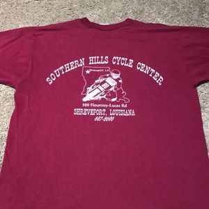 Vintage Southern Hills Cycle Center Shirt